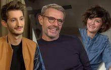 Pierre Niney, Lambert Wilson et Audrey Tautou parlent de L'Odyssée, qui retrace la vie du commandant Cousteau