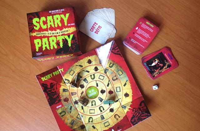 Scary Party, le jeu de société signé Jack Parker teste vos connaissances en films d'horreur!