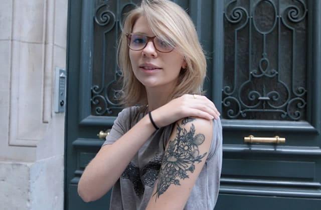 Street Tattoos — Clémence et ses tatouages fleuris