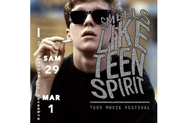 Smells Like Teen Spirit, un festival dédié aux teen movies !
