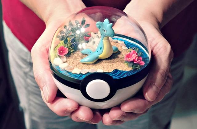 Les terrariums Pokémon, des décorations qui me font fondre d'envie