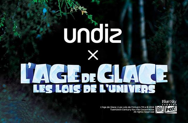 Undiz x L'Âge de Glace, LA collection cocooning de l'hiver 2016