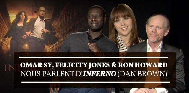 Inferno envoie Tom Hanks, Felicity Jones et Omar Sy en mission pour… sauver l'humanité