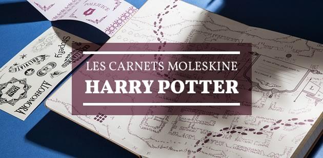 Moleskine sort des carnets Harry Potter en édition limitée!