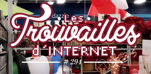 Les trouvailles d'Internet pour bien commencer la semaine #294