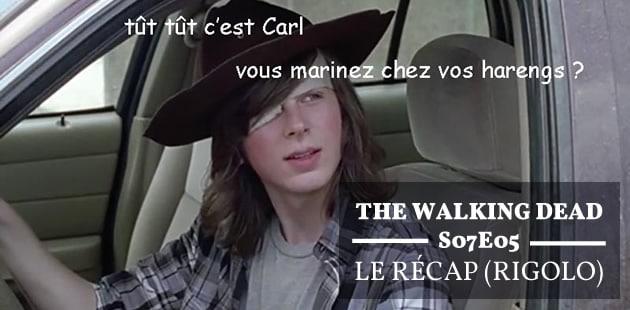 The Walking Dead S07E05 — Le récap (rigolo)