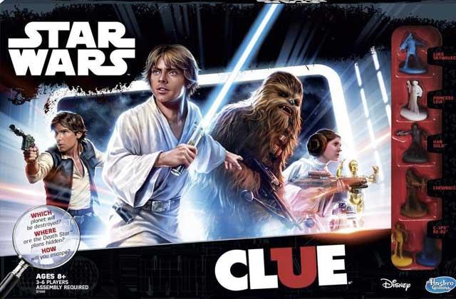 Le Cluedo Star Wars vous plonge dans l'Étoile de la Mort