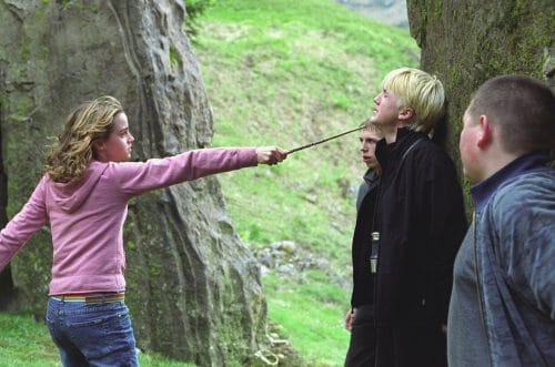 hermione-granger-drago-malefoy-dispute
