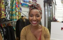 Katia, créatrice de turbans « pour les nulles », en interview !