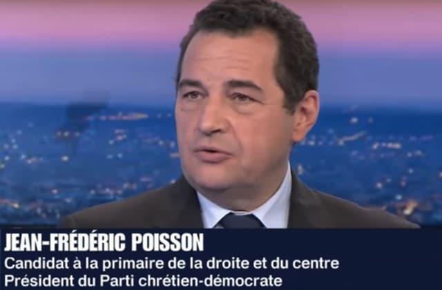 Primaires avant 2017: Jean-Frédéric Poisson et le droit à l'avortement
