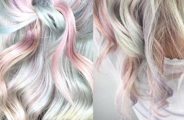 Le Pearl Hair, la tendance cheveux nacrée de l'hiver