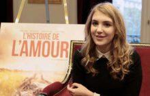 Sophie Nélisse, 16 ans, actrice québécoise, est à l'affiche de L'histoire de l'amour