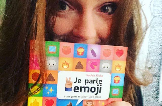 Sophie Riche Sort Son Premier Livre Et Ca Parle D Emoji