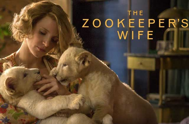 The Zookeper's Wife envoie un message d'espoir en plein pogrom