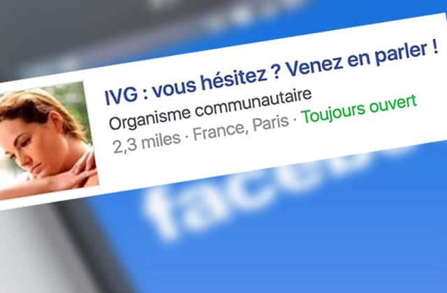 Tu vois des pubs anti-IVG sur Facebook? Ce n'est pas un hasard