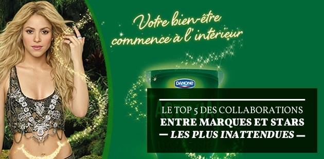 Le top 5 des collaborations entre marques et stars les plus inattendues