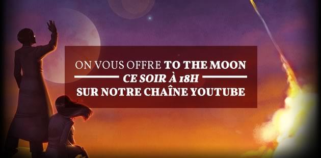 Le joli jeu vidéo To the moon est à gagner ce soir à 18h sur notre chaîne YouTube !