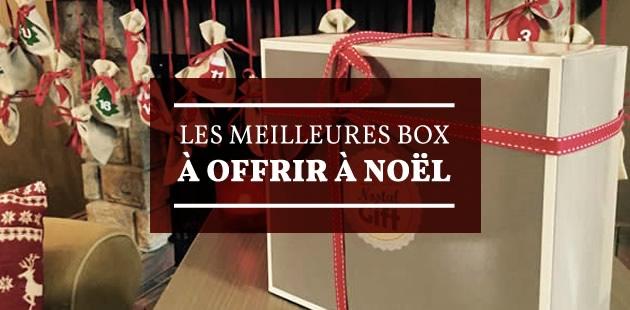 Les meilleures box à offrir à Noël!