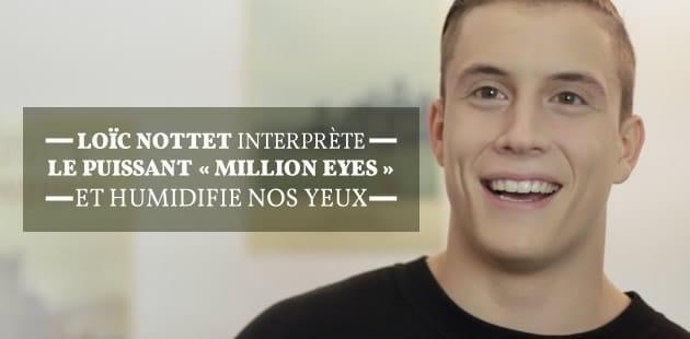 Loïc Nottet interprète le puissant «Million eyes» et humidifie nos yeux