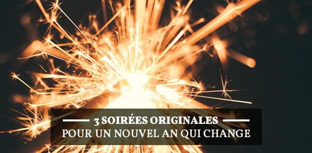 3 soirées du Nouvel An originales qui changent du champagne à minuit