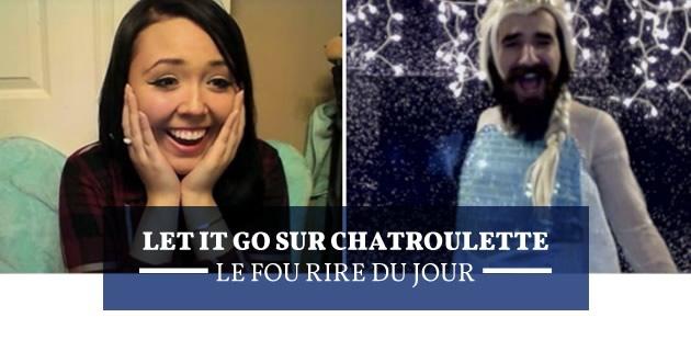 Let it Go sur Chatroulette, le fou rire du jour