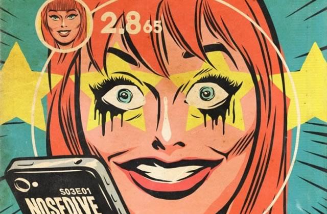 Les épisodes de Black Mirror adaptés façon couvertures de comics old school