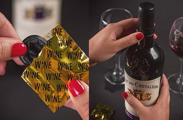 La capote pour bouteille de vin permet à ton pinard de sortir couvert