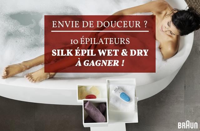 Concours de Noël — Braun te fait gagner 10 épilateurs Silk-Epil 5 Wet & Dry