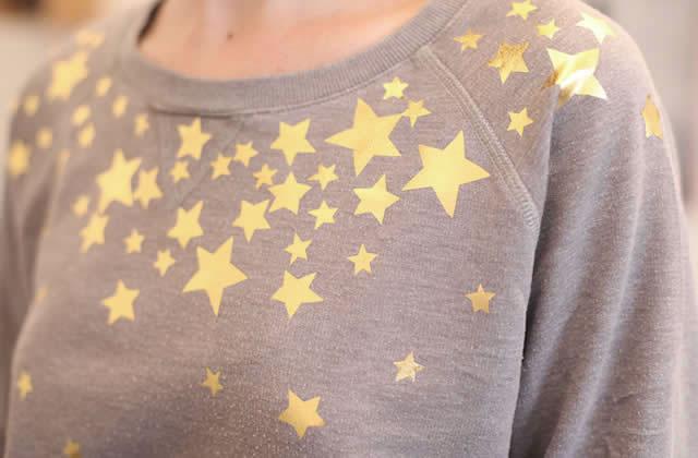 Deux DIY pour mettre des étoiles dans tes yeux (et sur tes pulls)