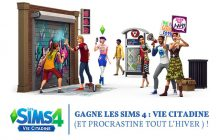 Gagnez Les Sims 4 pour vous essayer à la vie citadine!