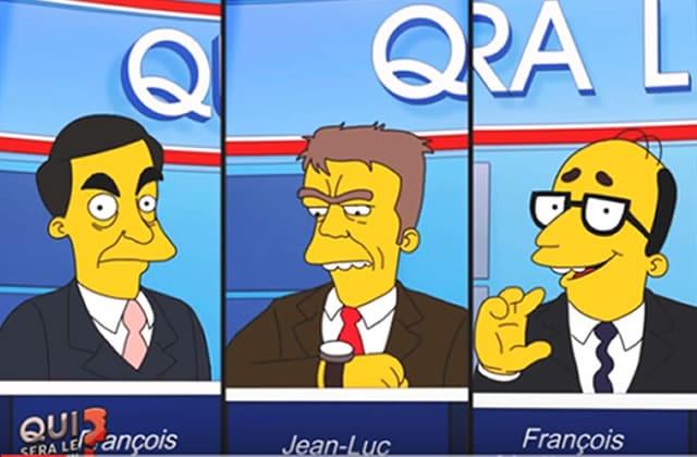 Greenpeace dénonce l'absence de l'environnement dans la campagne présidentielle… avec les Simpson!
