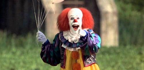 Clown de Ça de Stephen King dans le film de 2017
