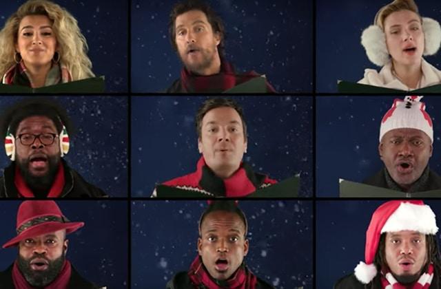 Jimmy Fallon célèbre Noël en chanson entre Paul McCartney et Reese Witherspoon