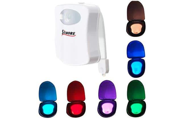 La lampe LED pour toilettes, ou «éclaire-caca» — Idée cadeau pourrie pour Noël