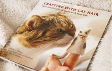 Un livre pour faire du DIY avec les poils de ton chat — Idée cadeau pourrie