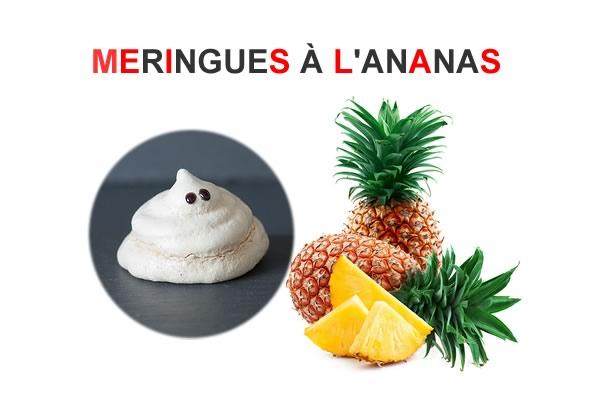 meringues-ananas