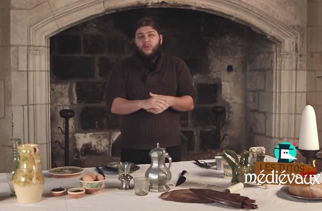 Nota Bene cuisine comme au Moyen Âge, et ça donne faim!