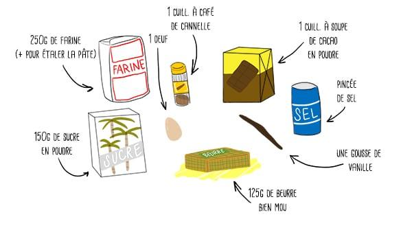 recette-sables-choco-cannelle