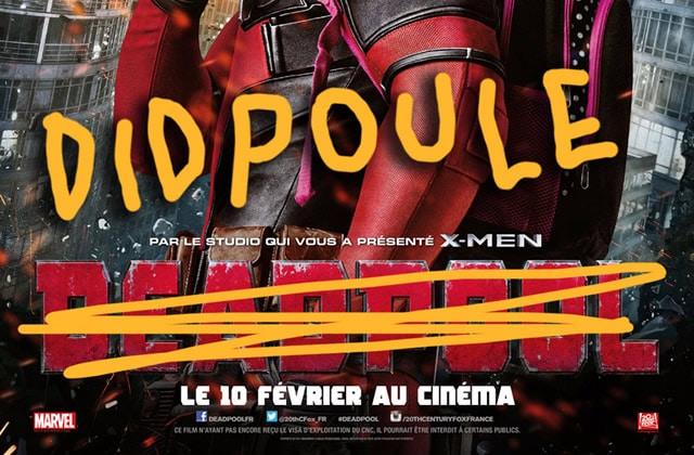 Deadpool devient «Didpoule», et autres titres très mal prononcés qui nous ont fait crever de rire