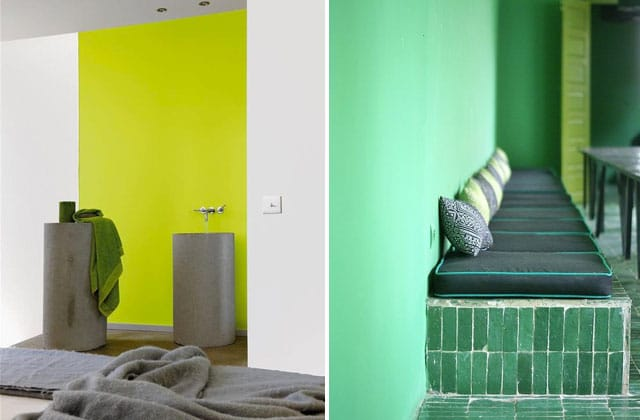 amazing vert with mur vert pomme. Black Bedroom Furniture Sets. Home Design Ideas