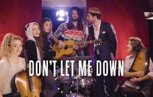 Waxx, Pomme, L.E.J et Igit vous offrent une reprise de Noël du tube Don't let me down!