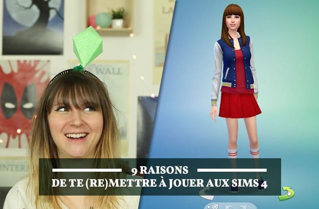 9 raisons de te (re)mettre à jouer aux Sims4