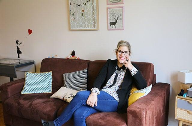 Dans l'appart' de Stéphanie, chef de projet e-commerce à Paris