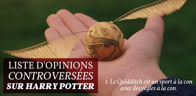 Dumbledore est un enfoiré, et autres opinions controversées sur Harry Potter