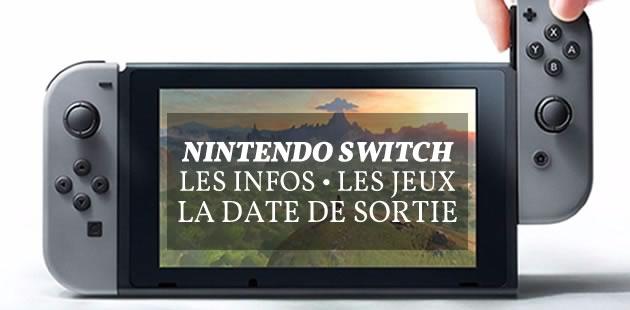 La Switch, nouvelle console de Nintendo, se dévoile dans une nouvelle vidéo