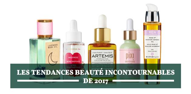 Les tendances beauté incontournables de 2017
