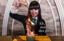 Le café Harry Potter, sa Coupe de Feu qui déborde de flammes et son menu qui fait saliver