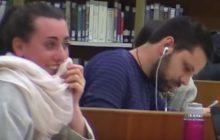 Fou rire à la bibliothèque universitaire avec cette caméra cachée hilarante