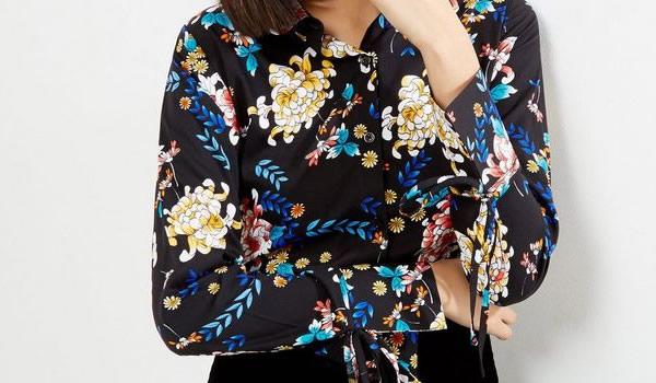 chemise-motif-fleurs