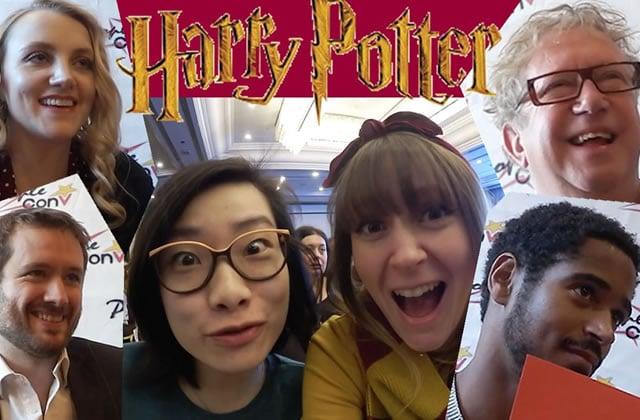 Fannyfique & Aki ont reçu leur ticket pour Poudlard et vous emmènent en convention Harry Potter!
